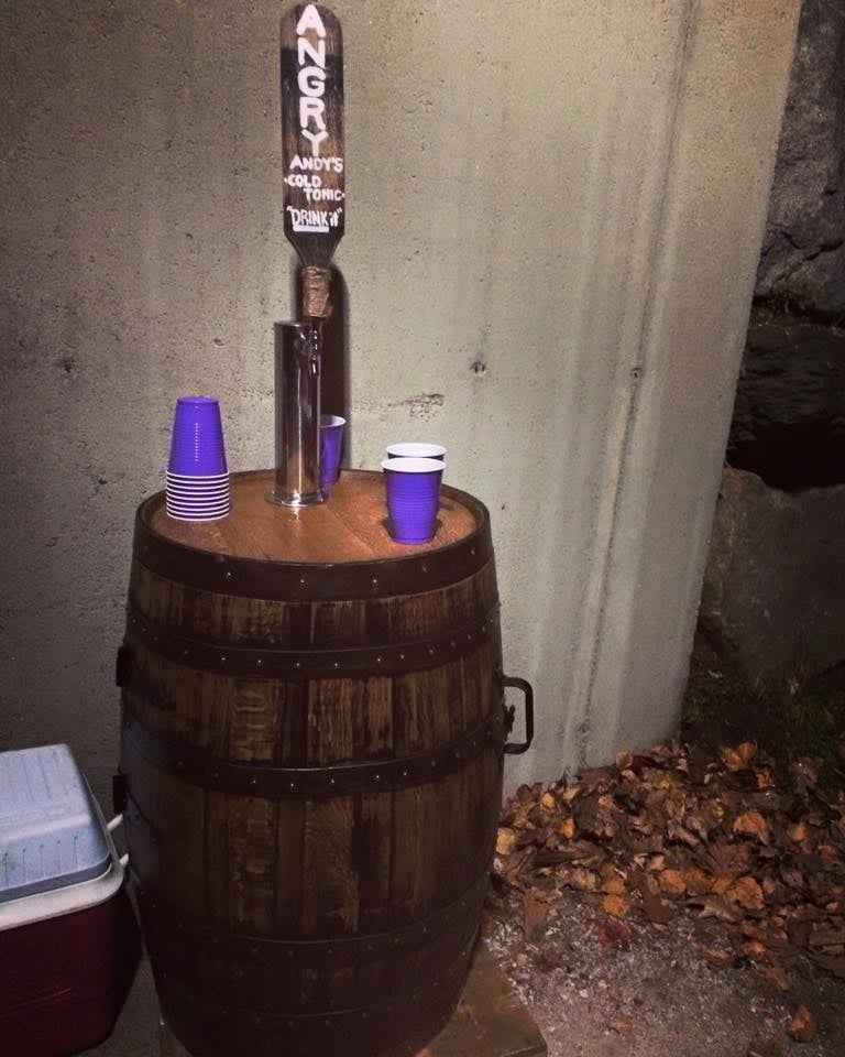 Barrel Kegerator