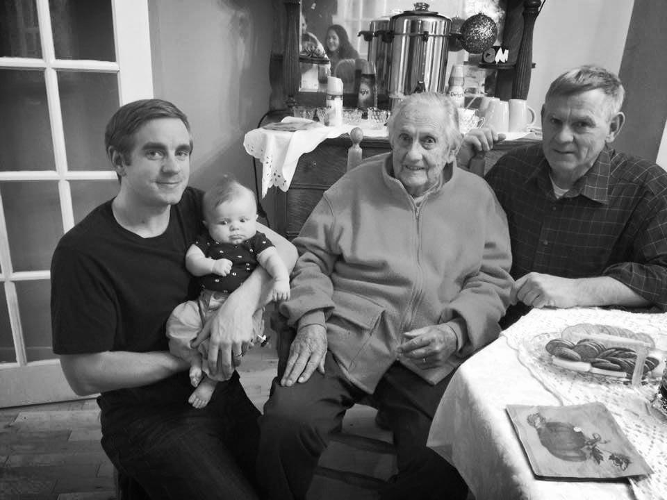 4 Generations of Pierce Boys.