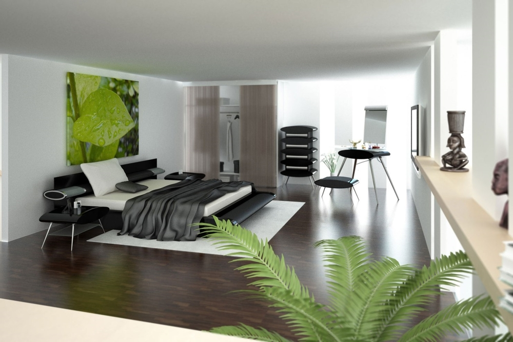 Green One Bedroom Apartment
