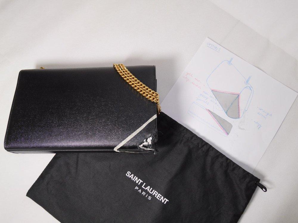 YSL redesigned bag