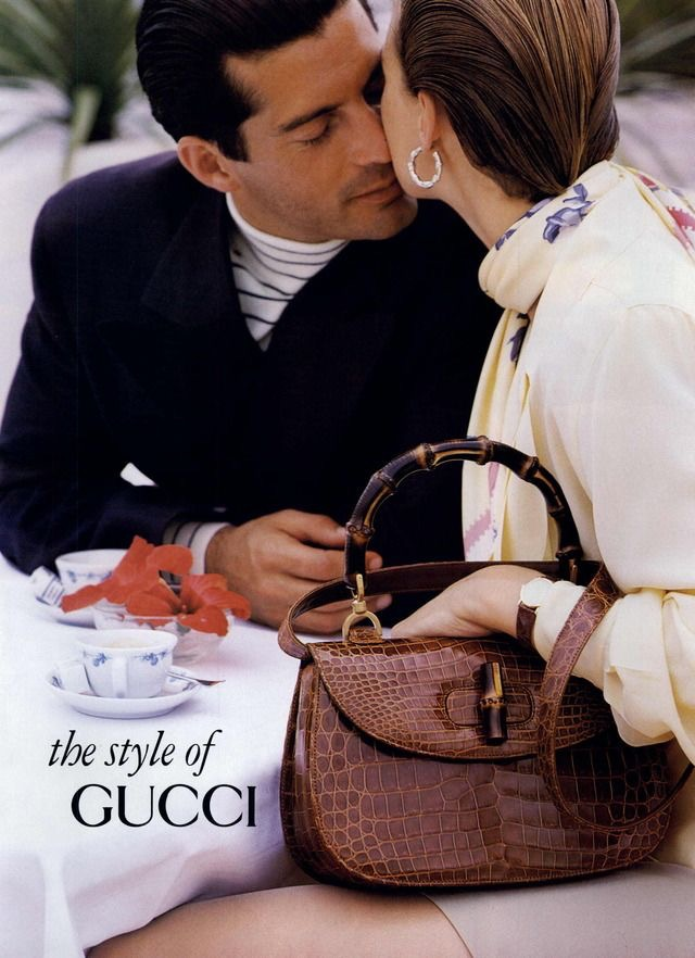 1991 Gucci Advert