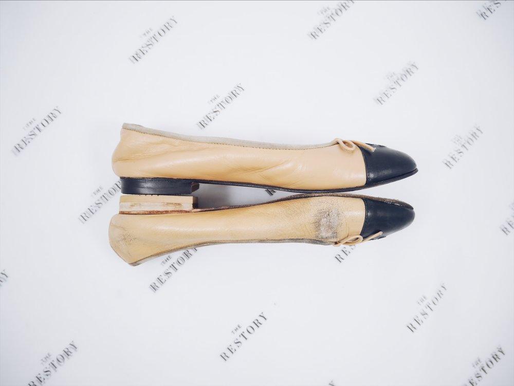 Chanel Ballet Flats.JPG