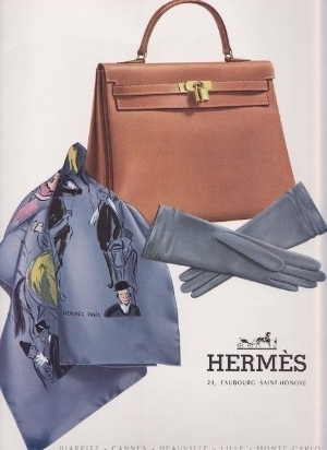 1957 Hermès Kelly Advert