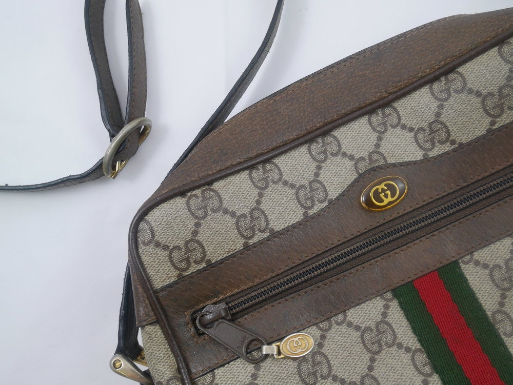 After: the Gucci Ophidia GG Supreme Small Shoulder Bag