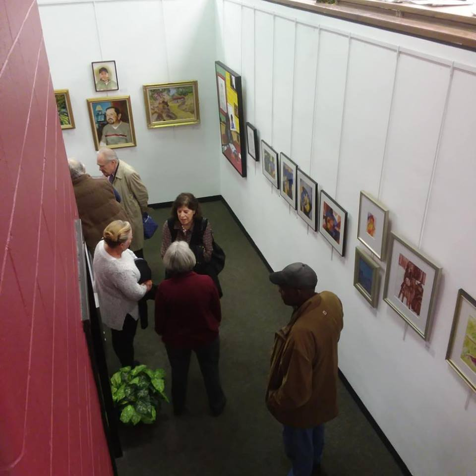 The Mezzanine Art Gallery - The Trenton Free Public Library is proud to be a part of the new Creek to Canal Creative Arts District in the City, and supports the arts by making available a gallery space for local and visiting artists to display their work.