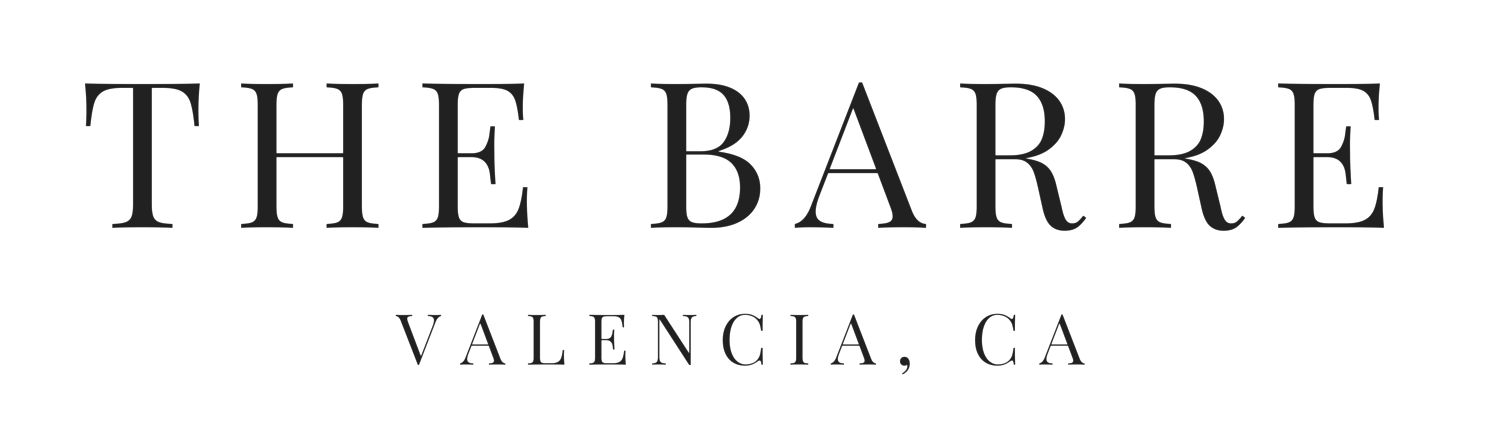 THE BARRE VALENCIA