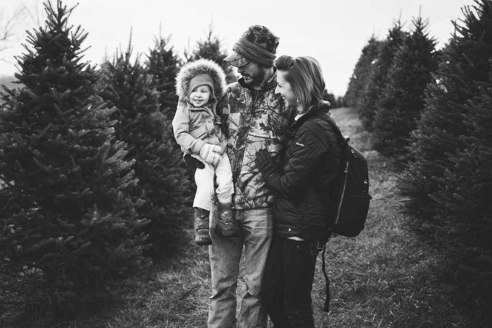 Christmas Lifestyle Photography, Millersburg Ohio