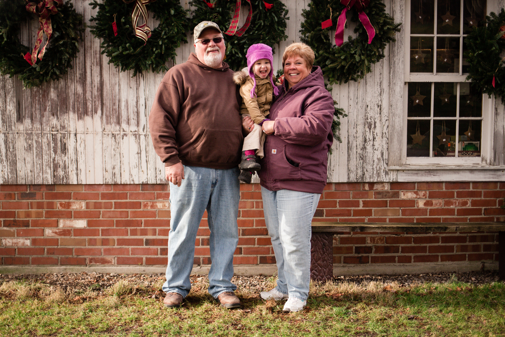 Ohio Christmas Lifestyle Photography