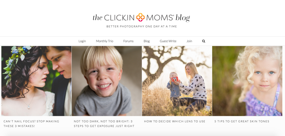 Clickinmoms blog, Teach yourself photography, Photography resource, Photography tips and tricks