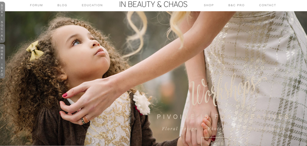 In beauty and chaos, Photography resources, Learn photography