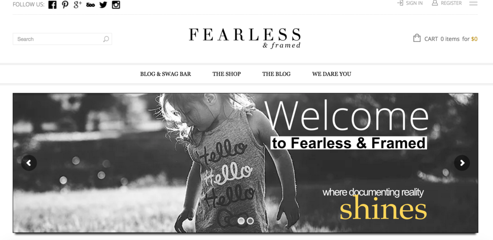 Fearless and framed, How to learn photography, Photography tips and tricks