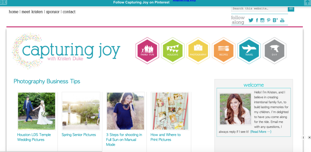 Capturing joy with Kristen Duke, Photography Resource, Photography Blog