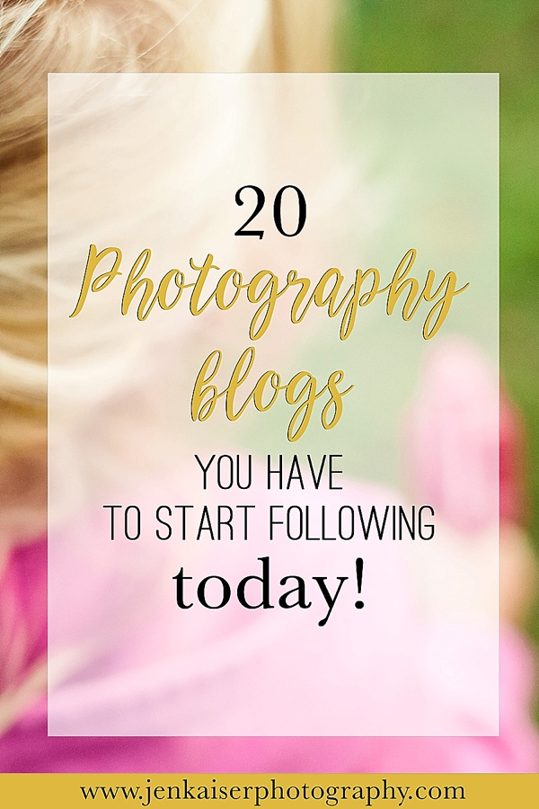 Top photography bloggers to help you learn photography and start a business.