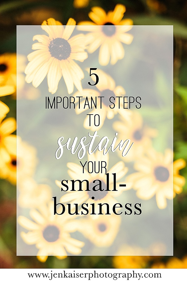 How to sustain your small business