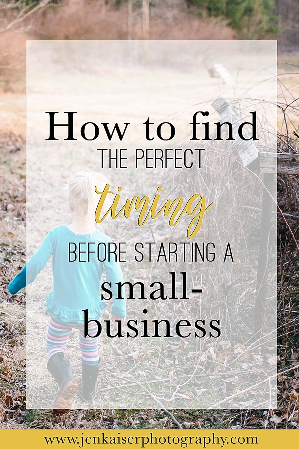 Small business tips and tricks, When to start a small business