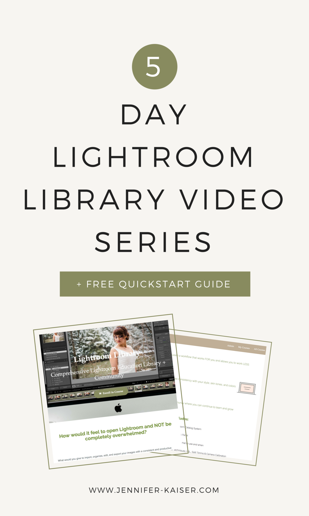 Adobe Lightroom Free Video Training