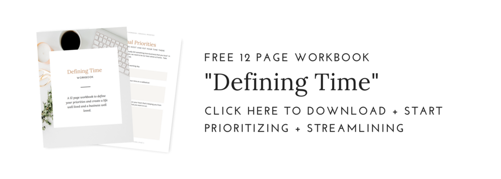 learn how to prioritize your time in your business and personal life