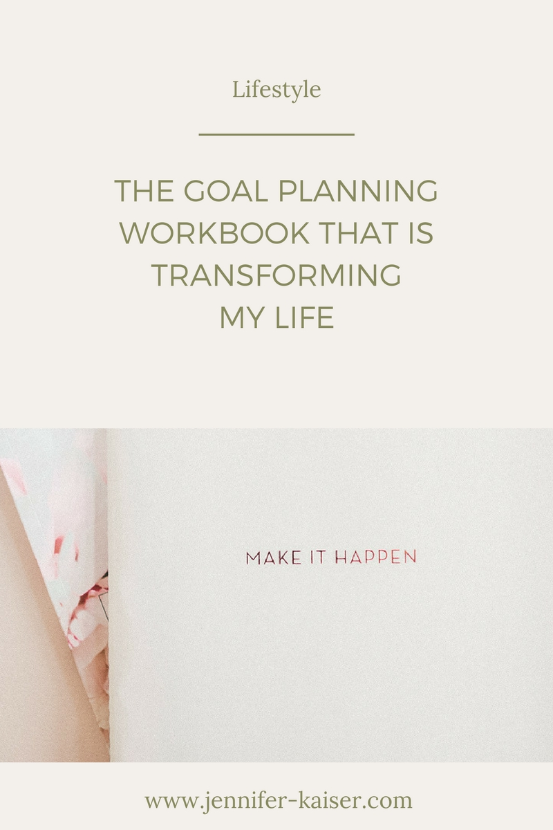 The goal planning that is transforming my life! Powersheets goal planner.