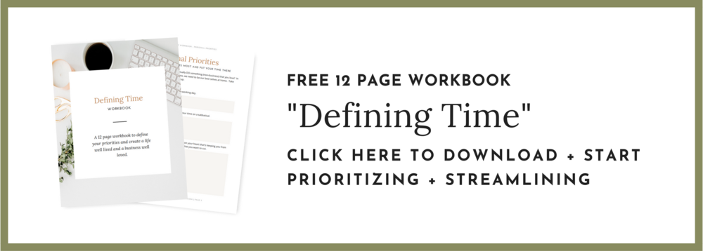 How to manage your time workbook