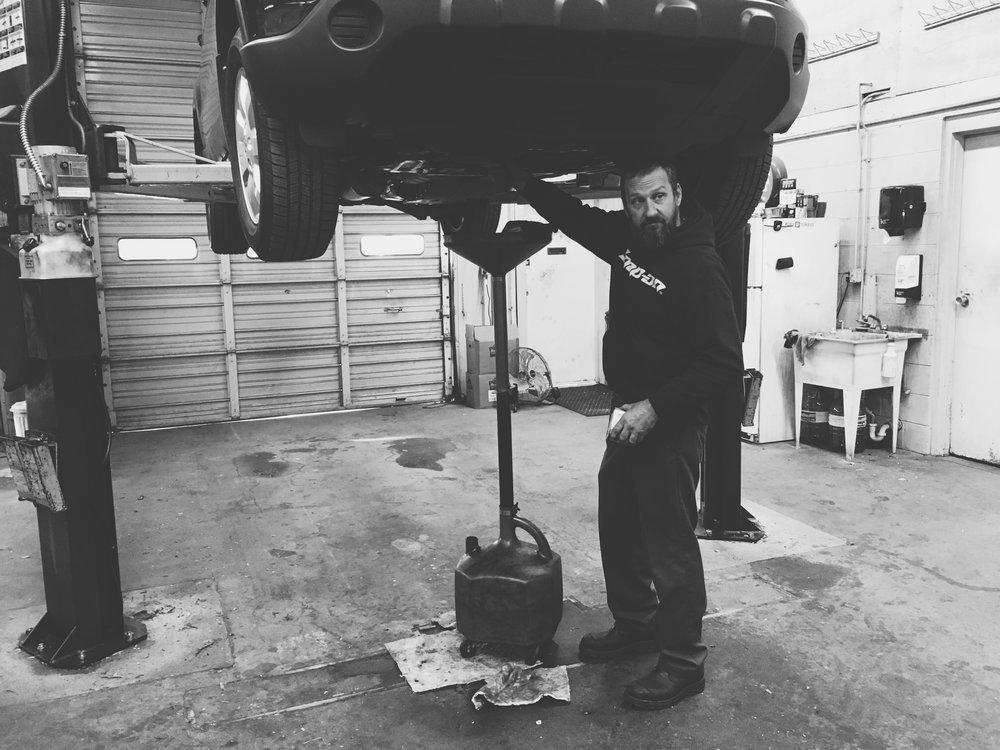 Brian Bird , Mechanic - 30 years experience