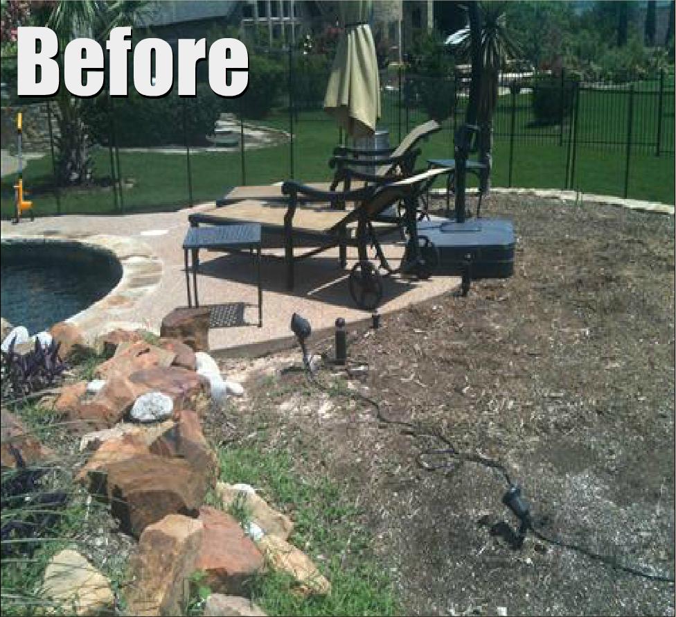 before & after — grassperson