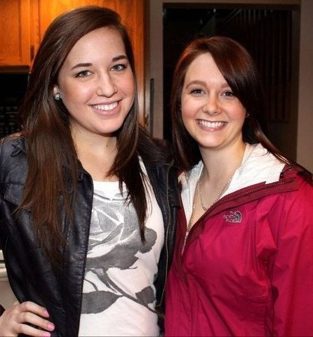 PS. proof of the brown hair, I'm on the right and it really wasn't THAT bad.