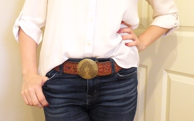Fun Fact: My mom bought this belt at a San Francisco street fair when she was in high school. It hasn't fit me since college.