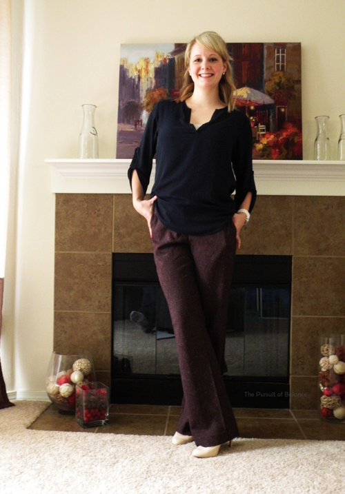 Pants Ann Taylor Factory Store on clearance, blouse Nordstrom Rack on sale