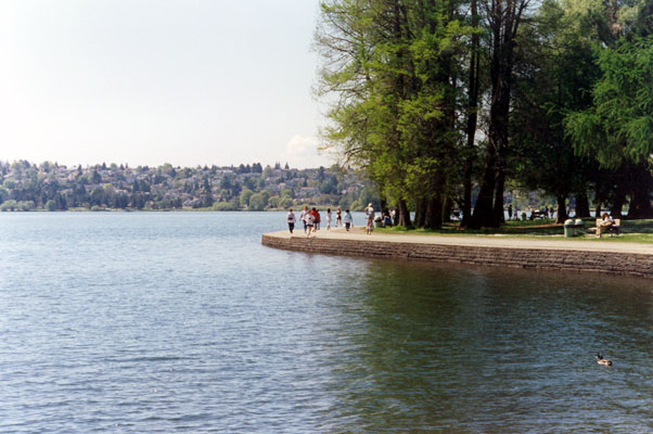Greenlake Path from Seattle Parks & Rec