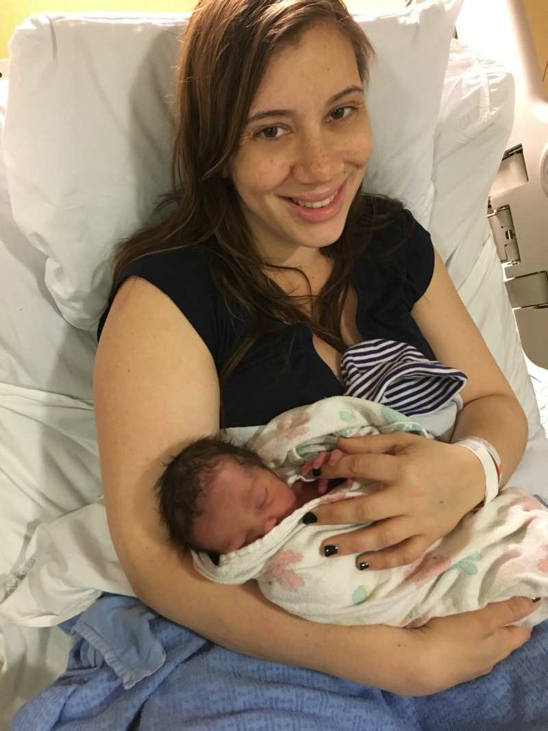 My sister (Becca) and baby boy Reed <3