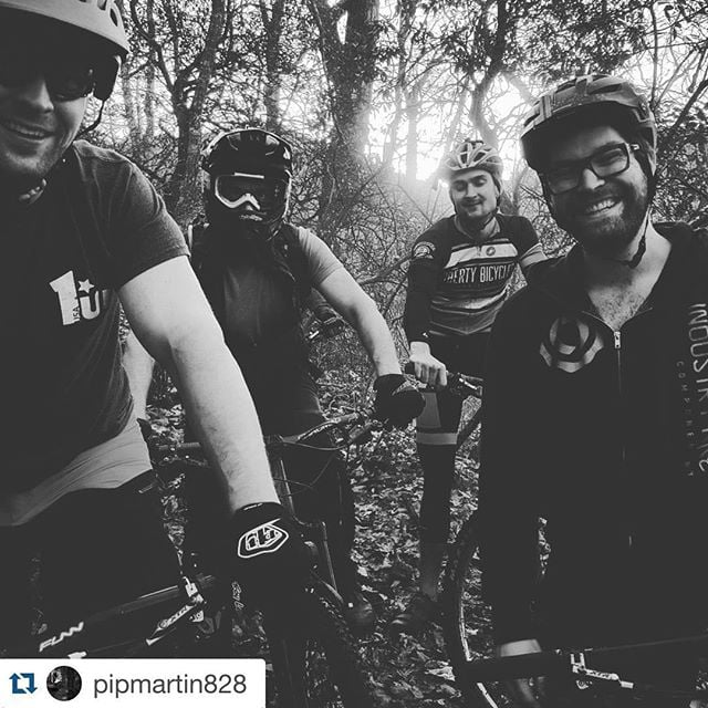 #Repost @pipmartin828 ・・・ Just great days in the woods... on bicycles :) #ridebikes #goodpeople #goodlife