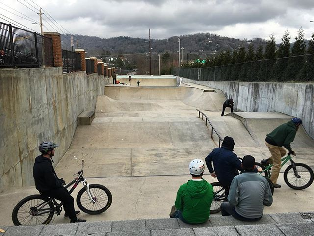 From trail bikes to skateparks. It's been a good weekend.
