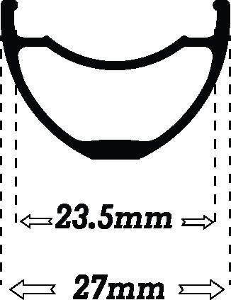 Black UL235 rimwidth icon