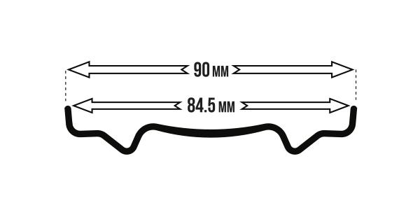 BigRig 845 rimwidth icon