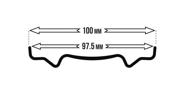 BigRig 975 PillarCarbon rimwidth icon