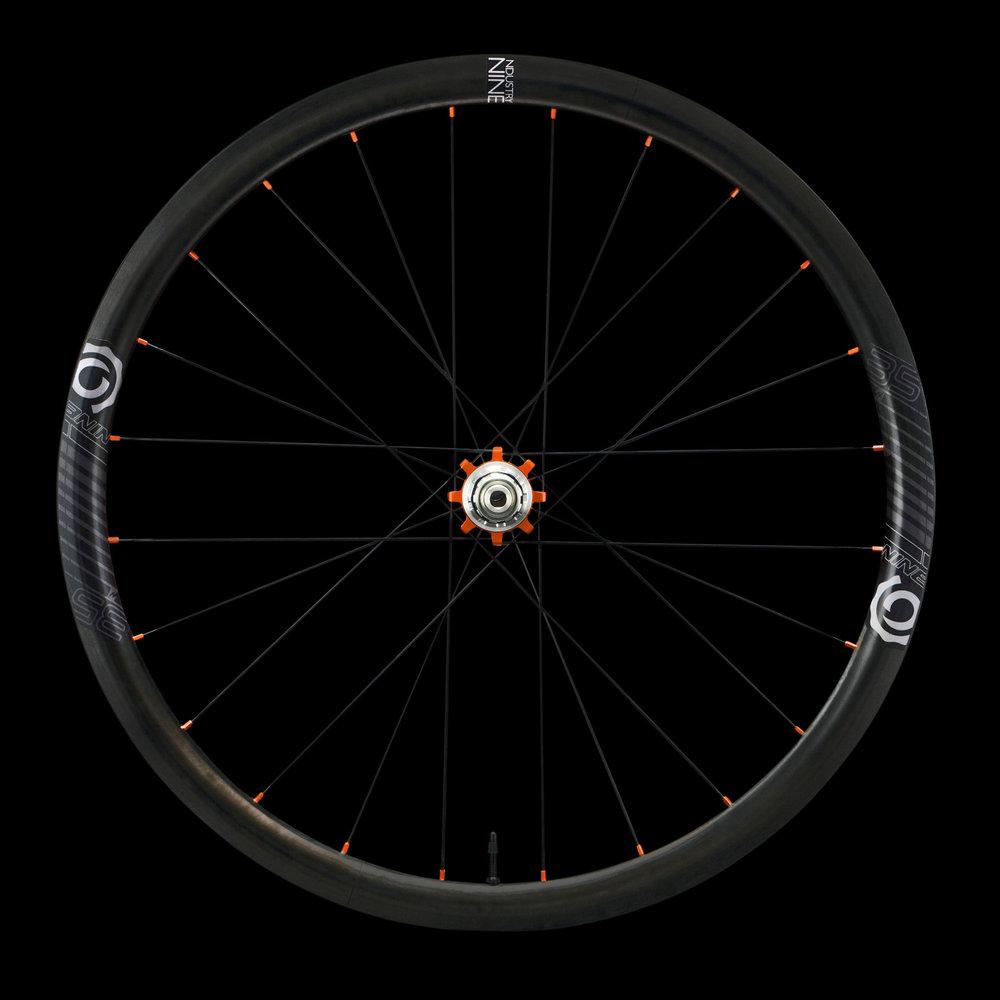 Product - Wheelsets - Road - i9.35 - Color - REAR - On Black - DSC03775_WEB_Cover Image.jpg