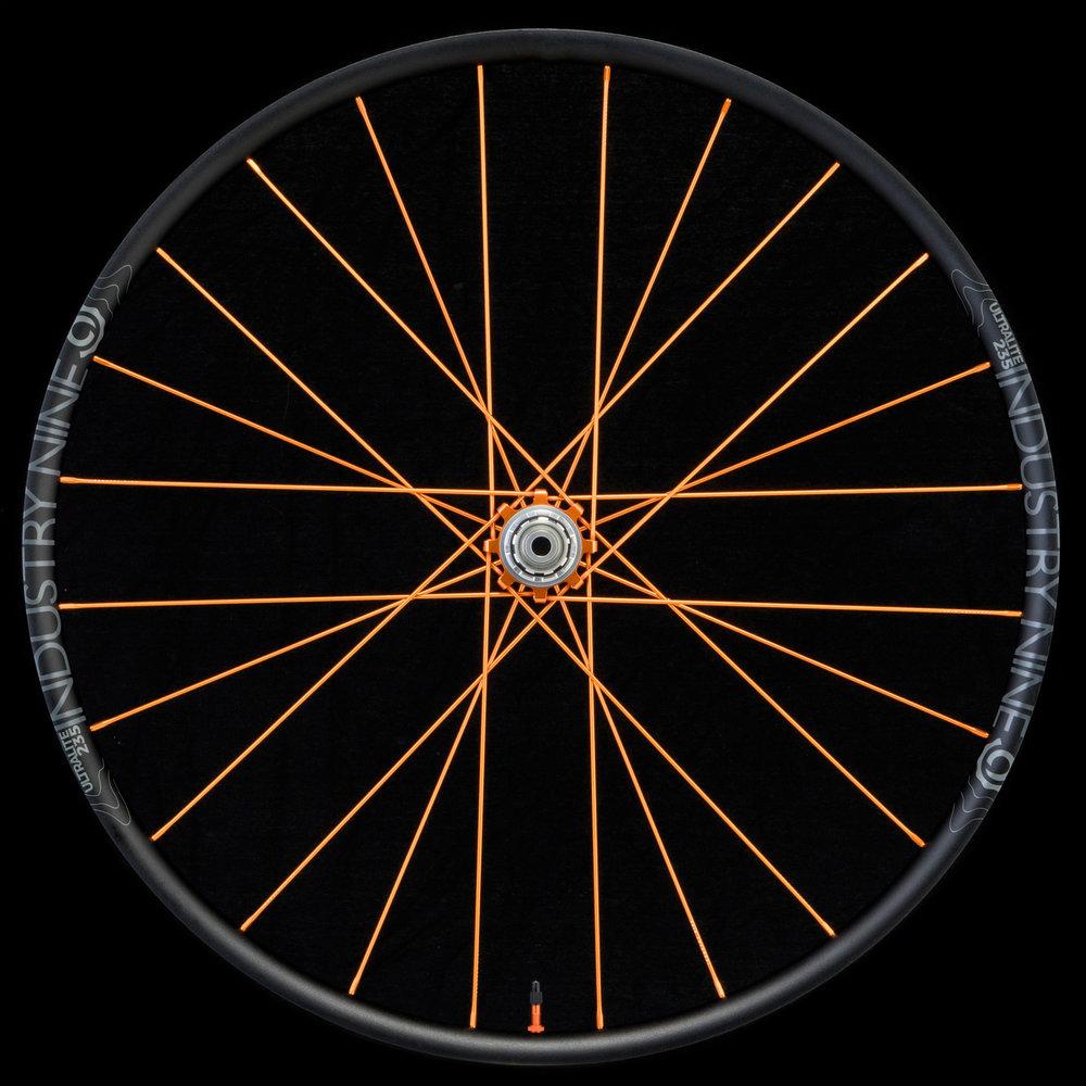 UltraLight235 -29 -  TRA System - Orange Build - On Black - Rear Wheel_WEB.JPG