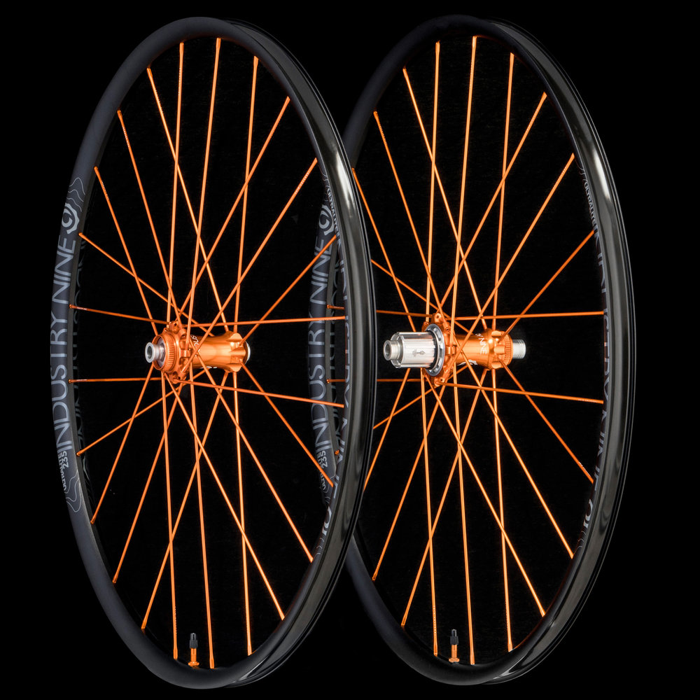 UltraLight235 - TRA System - Orange Build - On Black - Wheelset_WEB.JPG