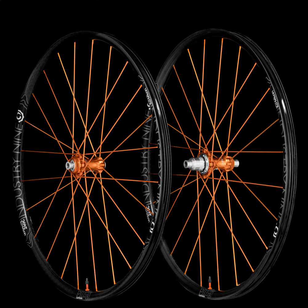 UltraLight240c - TRA System - Orange Build - On Black - Wheelset_WEB.JPG
