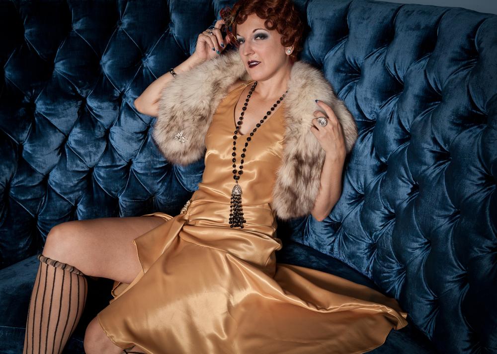 Burlesque Performer Gin Minsky