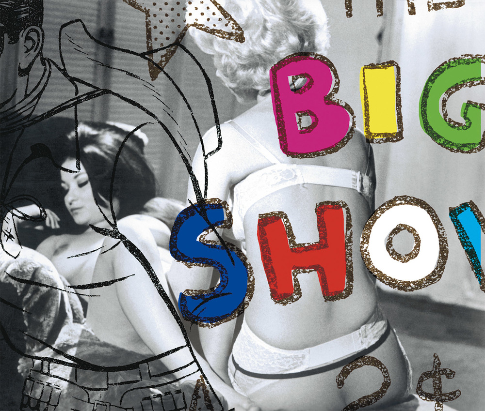 "Big Show , 2003, 37 5/8 x 49 7/8"", digital print, plexiglass and frame."