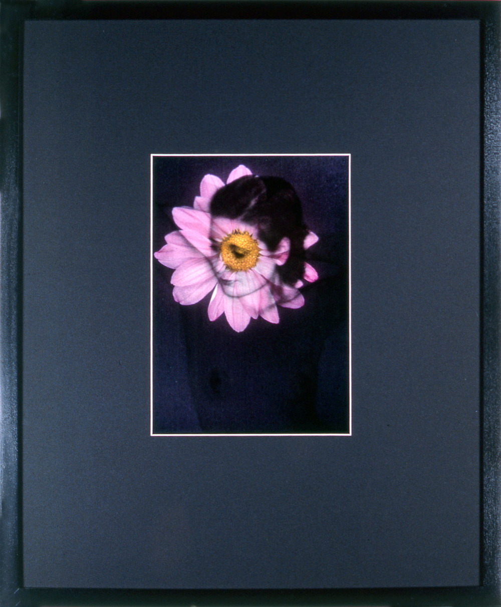 "Woman As Object 8 , 1995, 17 1/4 x 14 1/2"", mixed media with frame."
