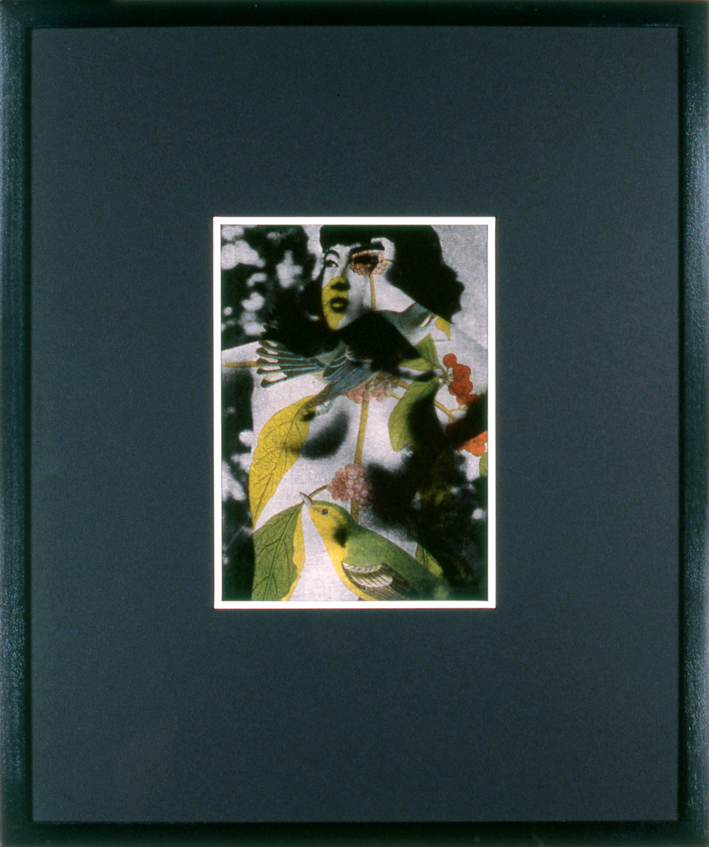 "Woman As Object 7 , 1995, 17 1/4 x 14 1/2"", mixed media with frame."