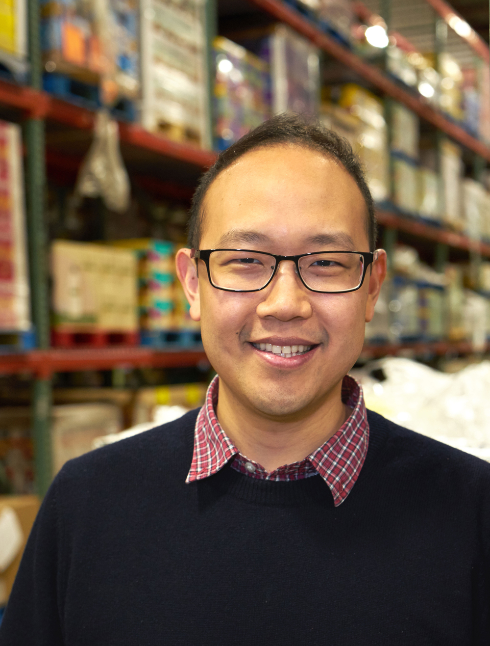 Chieh Huang, CEO, Boxed