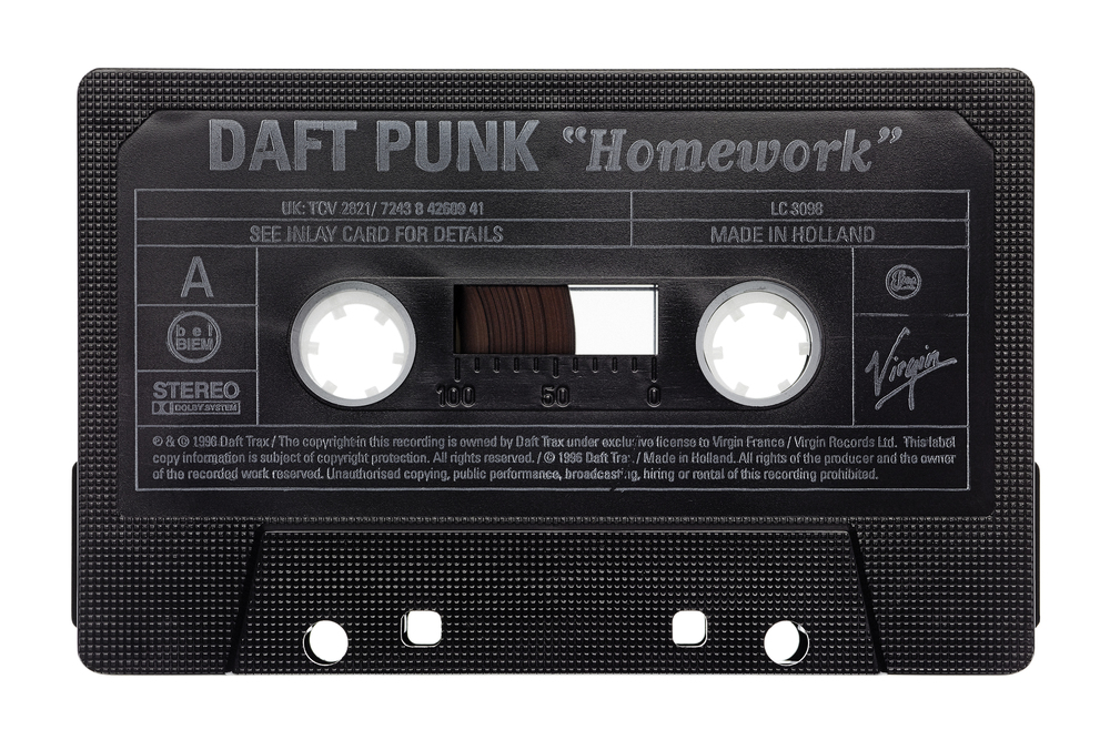 Daft Punk - Homework  Archival Inkjet Print    Inquire about price