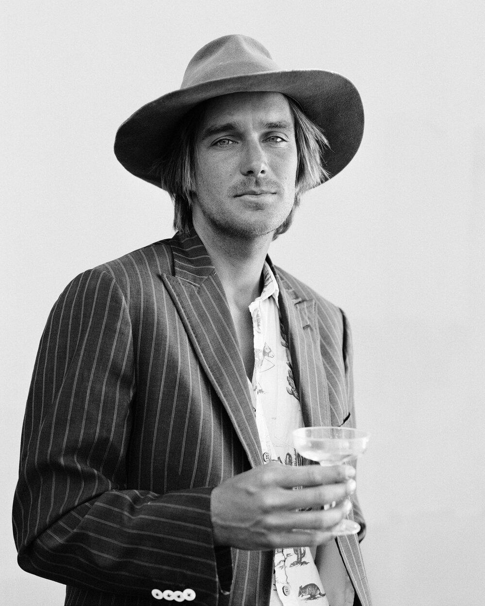 Levi Prairie - Artist, Musician, Surfer. Costa Mesa.