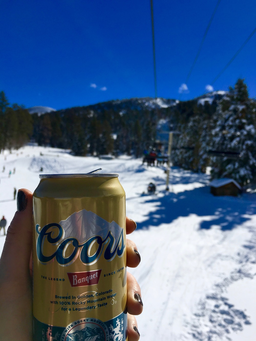 last cold one in america! bear mountain, california