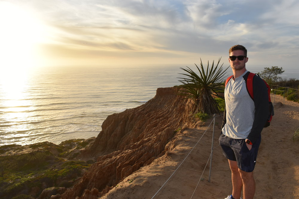 Razor Point Trail at Torrey Pines State Natural Reserve, California