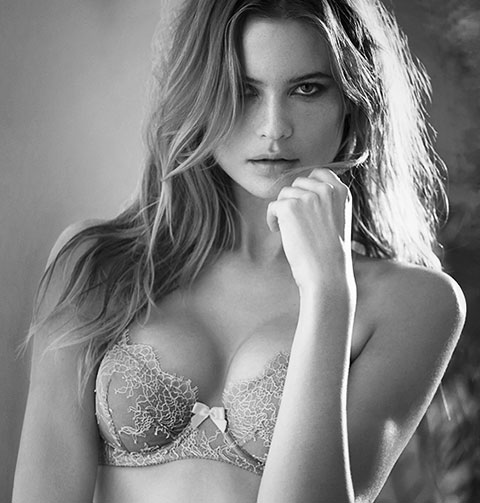 victoria's secret model and false feminine