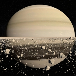 social planets saturn and jupiter